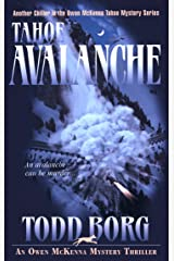 Tahoe Avalanche (An Owen McKenna Mystery Thriller Book 6) Kindle Edition