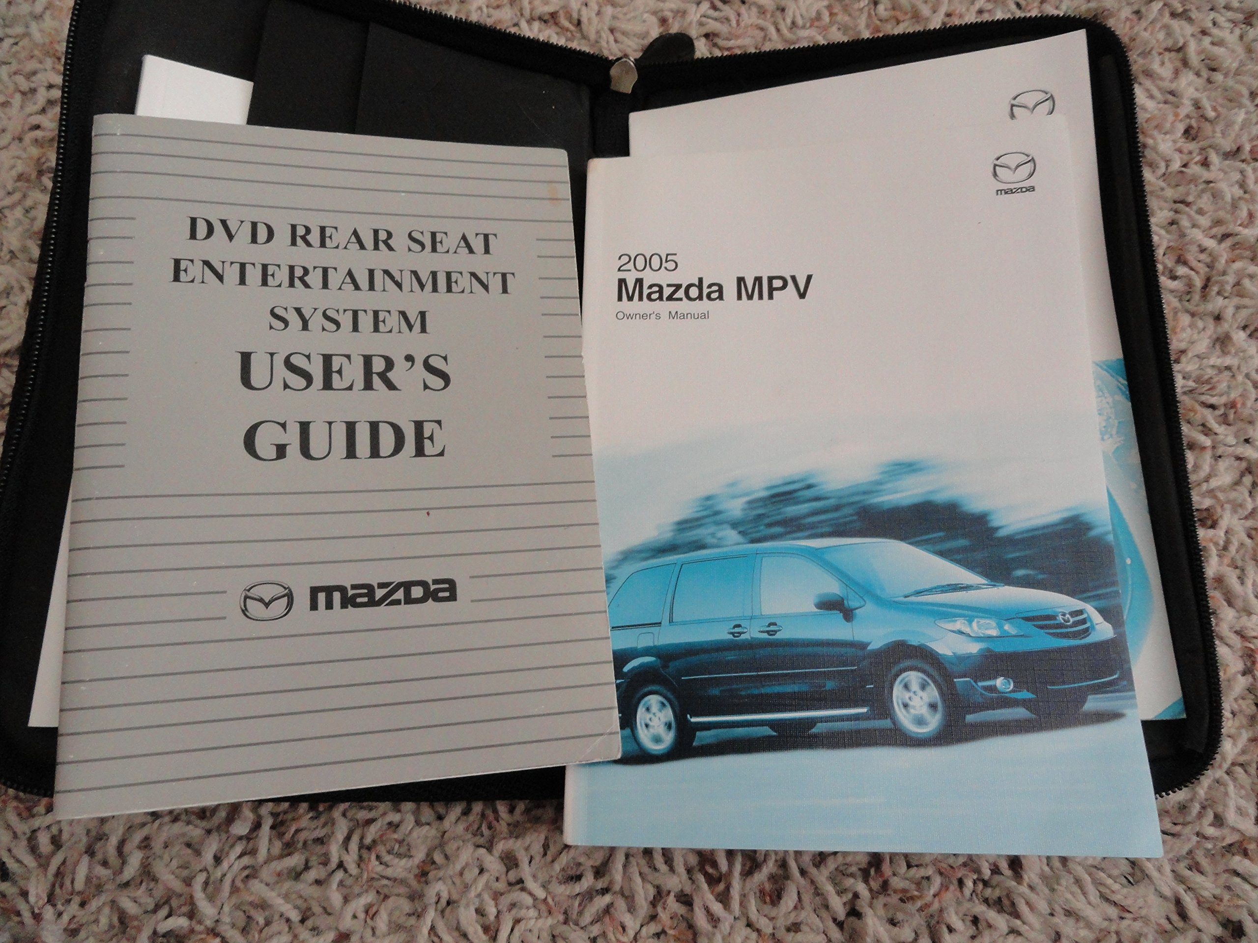 2005 mazda mpv owners manual amazon com books rh amazon com 2003 Mazda MPV ES Problems 2003 Mazda MPV ES Problems