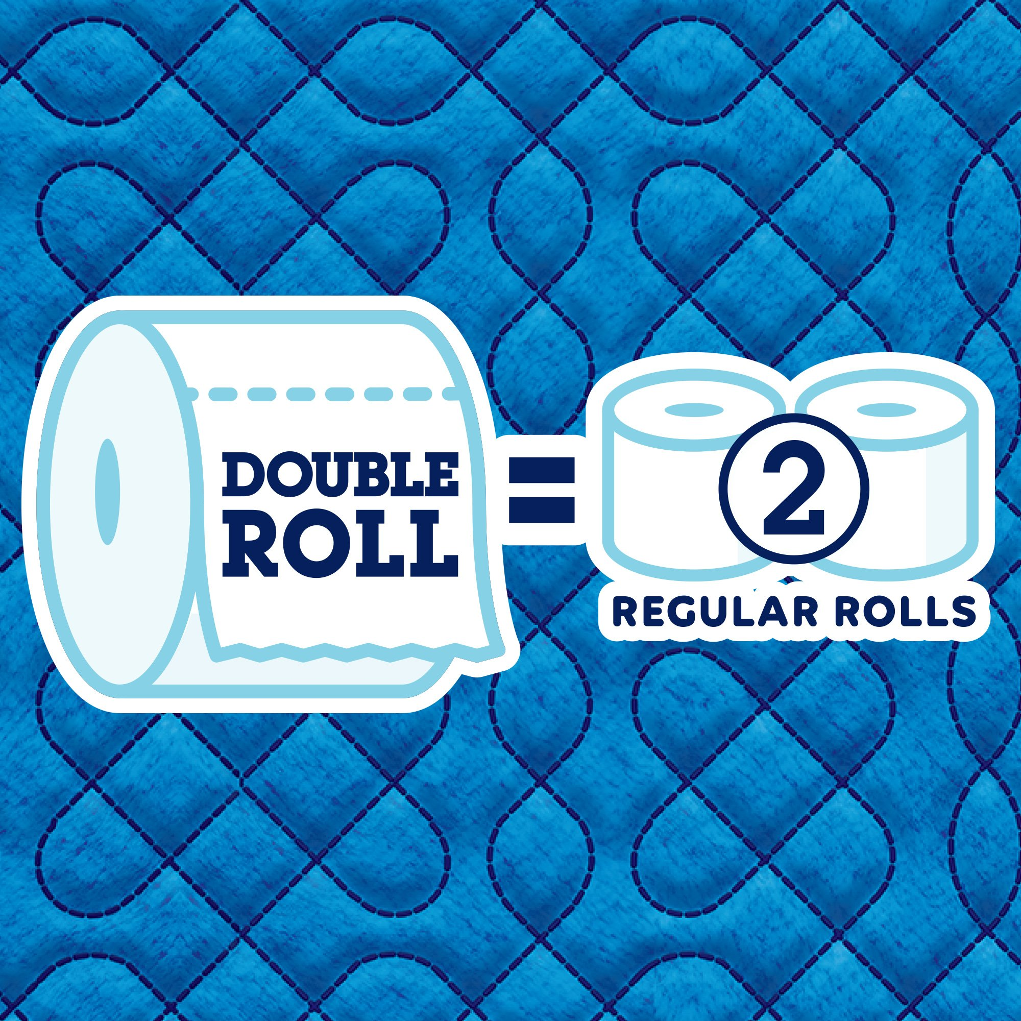 Quilted Northern Ultra Soft & Strong Toilet Paper, 48 Double Rolls, 164 2-Ply Sheets Per Roll by Quilted Northern (Image #3)