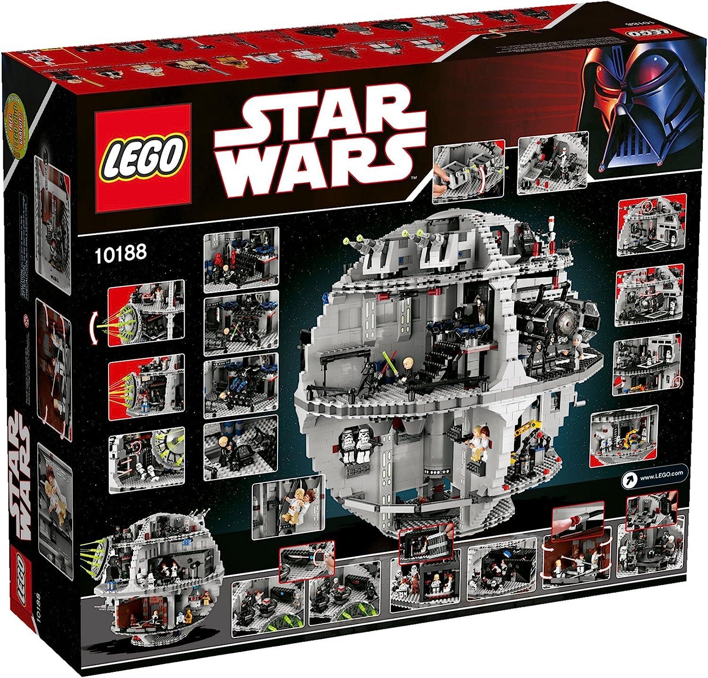LEGO STAR WARS DEATH STAR LUKE STORMTROOPER OUTFIT FIGURE NEW 10188-2008