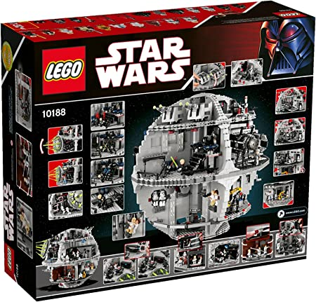 Amazon Com Lego Star Wars Death Star 10188 Discontinued By Manufacturer Toys Games