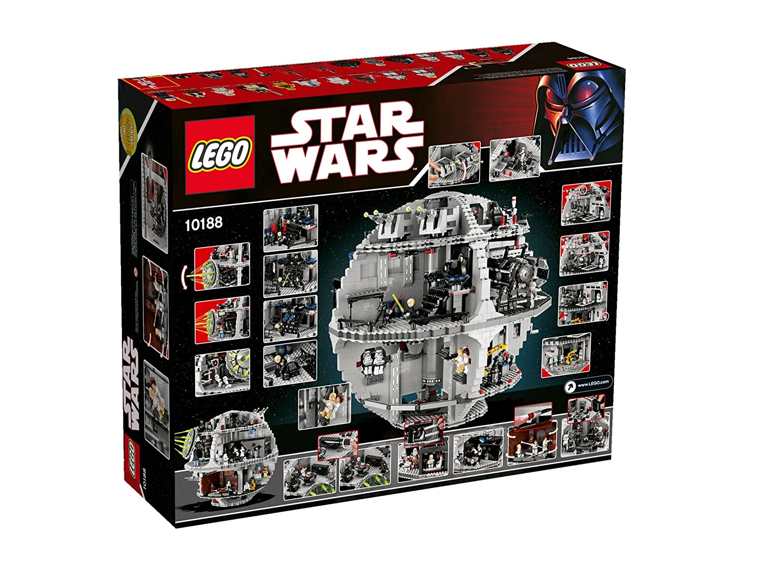 Amazon Lego Star Wars Death Star 10188 Discontinued By