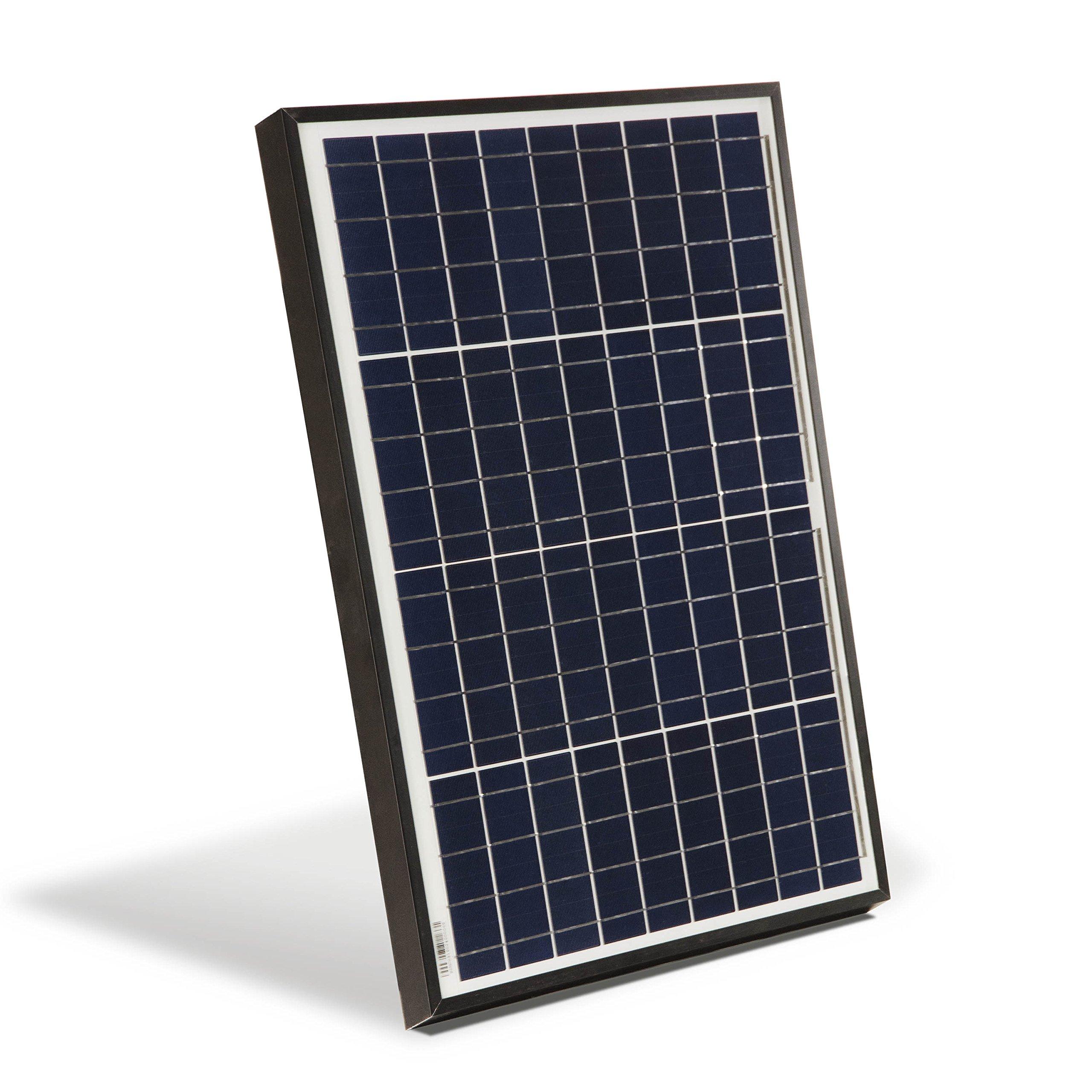ALEKO PP40W12V 40 Watt 12 Volt Polycrystalline Solar Panel for Gate Opener Pool Garden Driveway