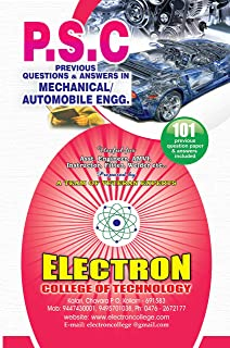 Buy psc previous question and answers in civil engineering book psc previous questions and answers in mechanicalautomobile engineering fandeluxe Gallery
