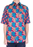 Bent Banani Floral Men's Shirts - Maple (Half Sleeve)