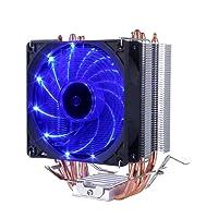 upHere Dissipatore di processore con ventola da 92mm PWM -cpu cooler.blu