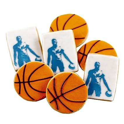 ½ DZ. Baloncesto Cookies Regalos de cumpleaños y deportes ...
