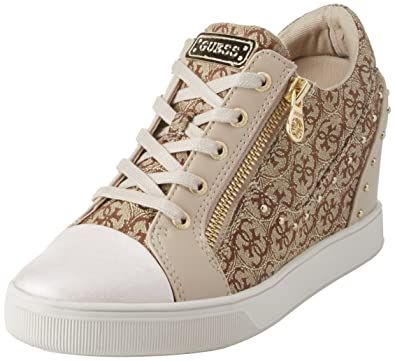 a08a230ad76 Guess Women s Footwear Active Lady Trainers  Amazon.co.uk  Shoes   Bags