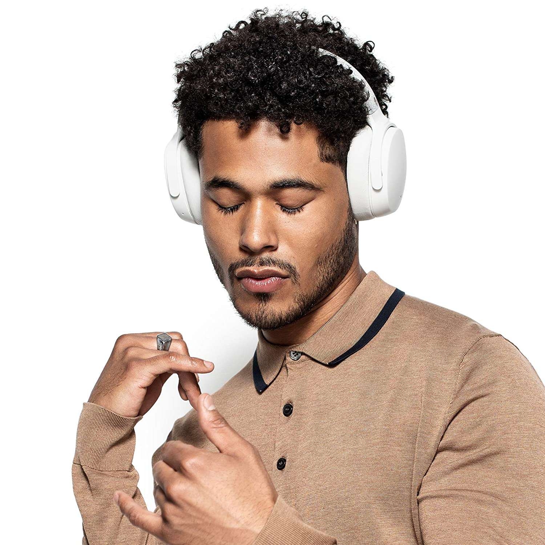 Tile Integration Skullcandy Venue Active Noise Cancelling Headphones Black Rapid Charge 24-Hour Battery Life Bluetooth Wireless Lightweight Premium Materials