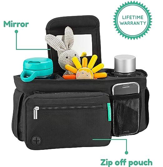 Amazon.com: SWANOO STROLLER Organizador con portavasos ...