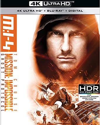 Amazoncom Mission Impossible Ghost Protocol Blu Ray Tom Cruise
