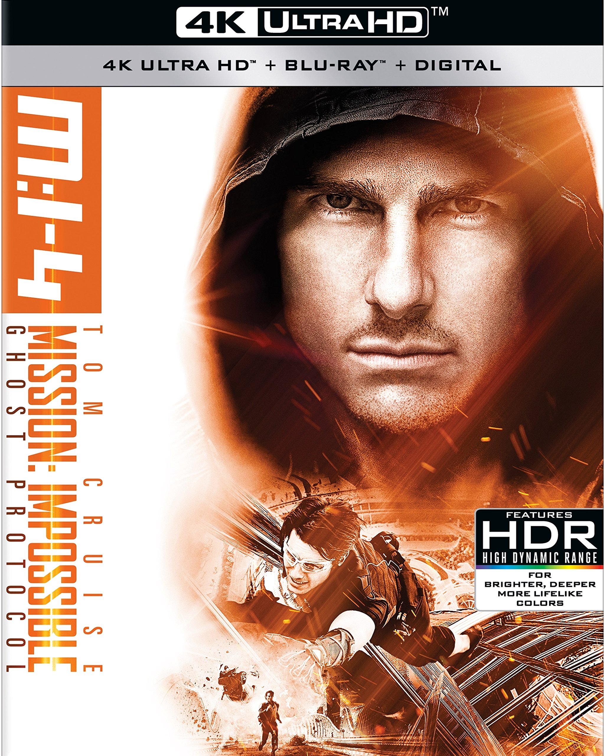 Blu-ray : Mission: Impossible: Ghost Protocol (With Blu-Ray, 4K Mastering, Widescreen, Digital Copy, 3 Pack)