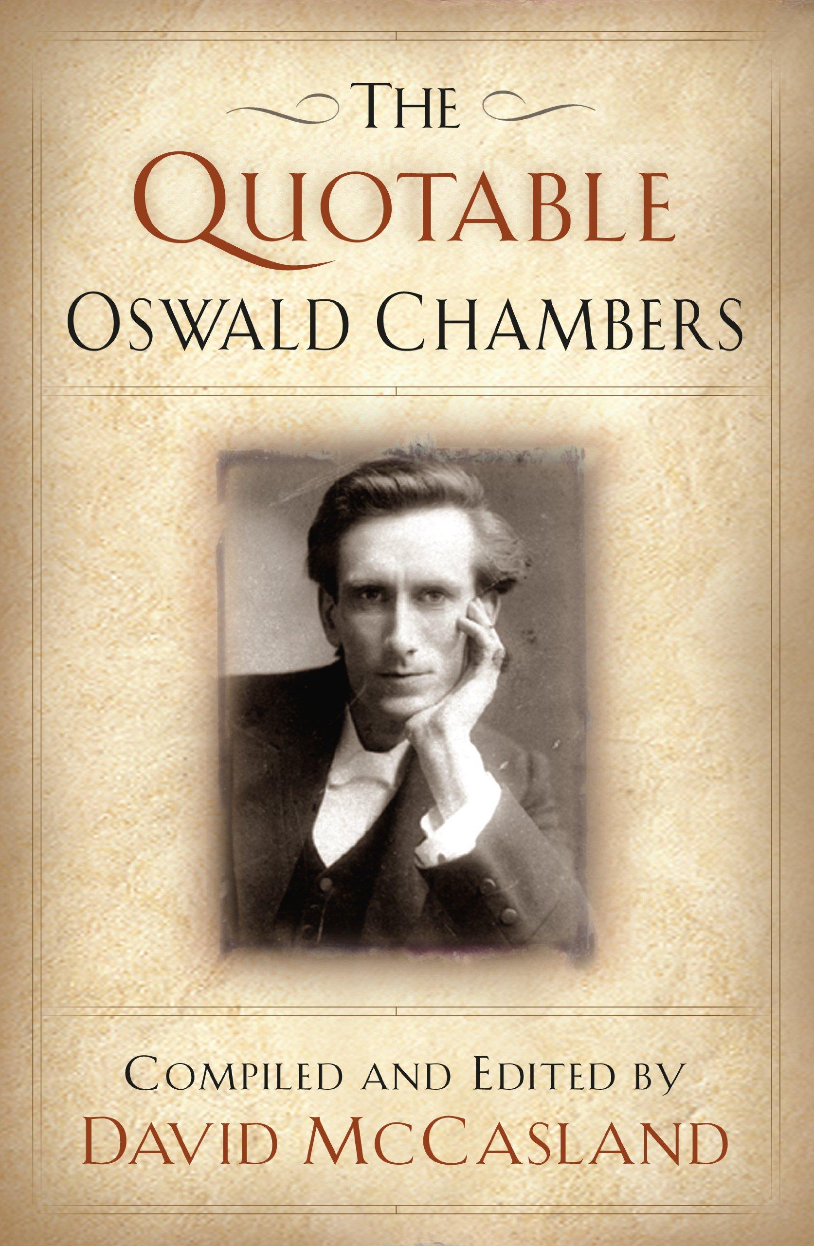 THE Quotable Oswald Chambers pdf epub