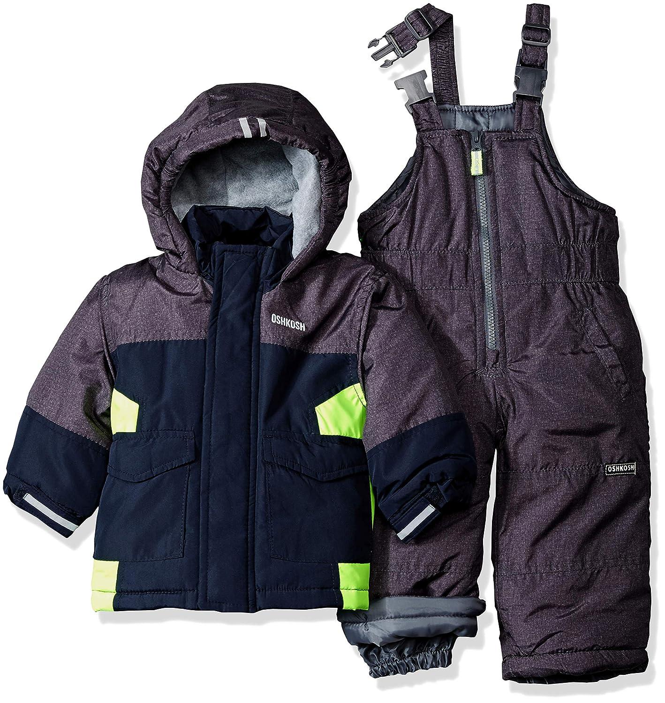 f8a26035d635 OshKosh baby-boys Baby Boys Green Infant Boys Hw Snowsuit B2176s91 ...