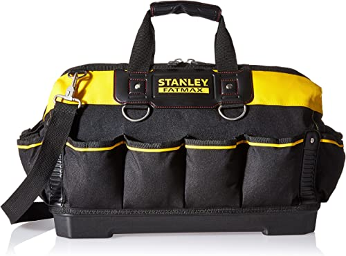 Stanley 518150M FatMax 18-inch Tool Bag,Black Gray Red