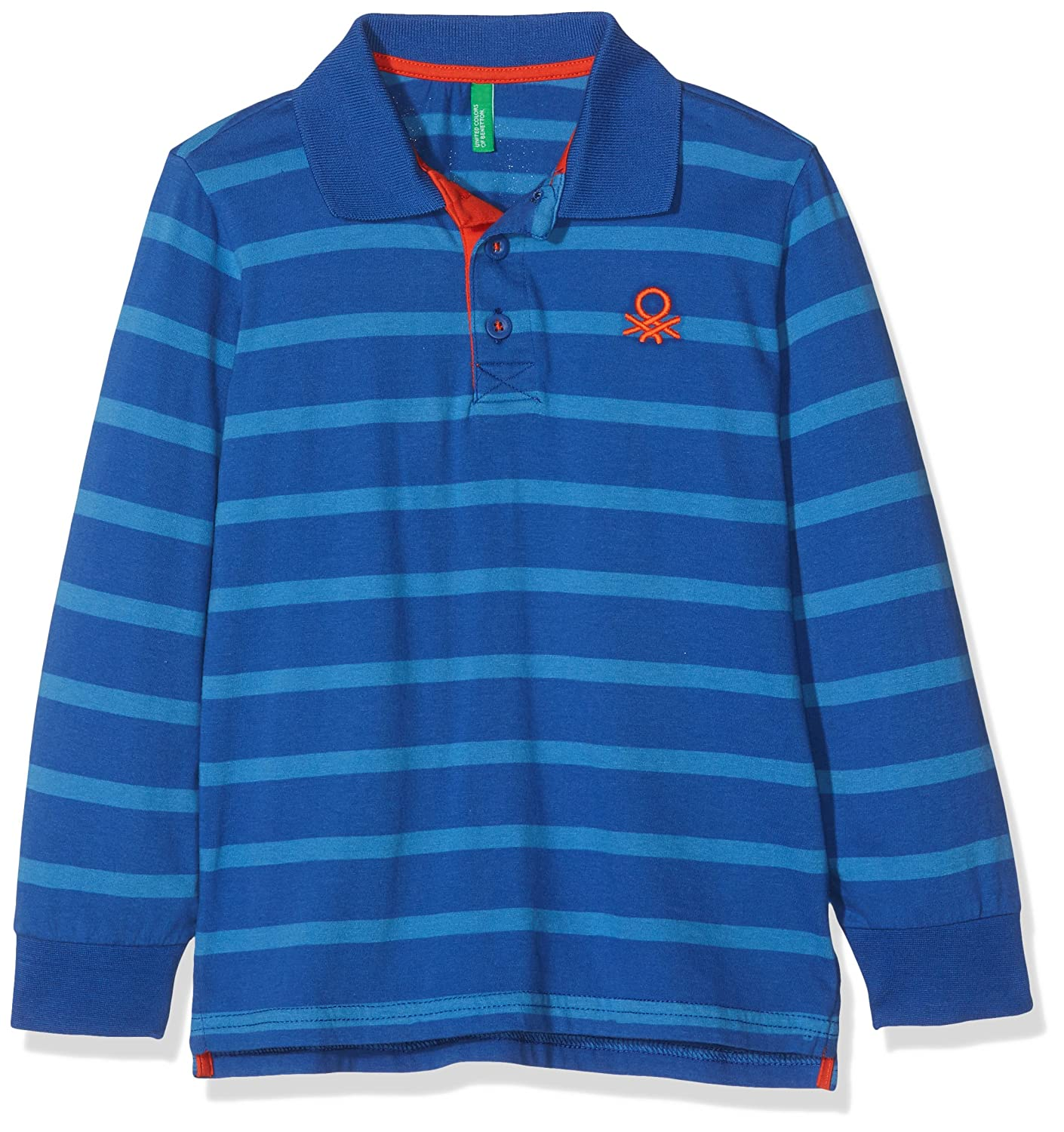 United Colors of Benetton L/s Polo Shirt, Azul (Blue 901), 98 ...