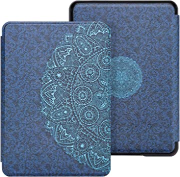A-Tree and Flowers WALNEW Case Fits Kindle Paperwhite 10th Generation 2018 Protective Slim PU Leather Case Smart Auto Wake//Sleep Cover Compatible Kindle Paperwhite 10th Gen 2018 Released