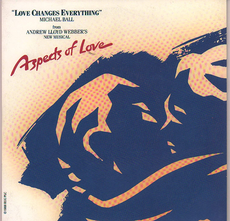 Love changes everything (1989) / Vinyl single [Vinyl-Single 7'']