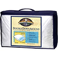Pacific Coast Double DownAround Down Cotton Pillows with AllerRest Fabric King, White