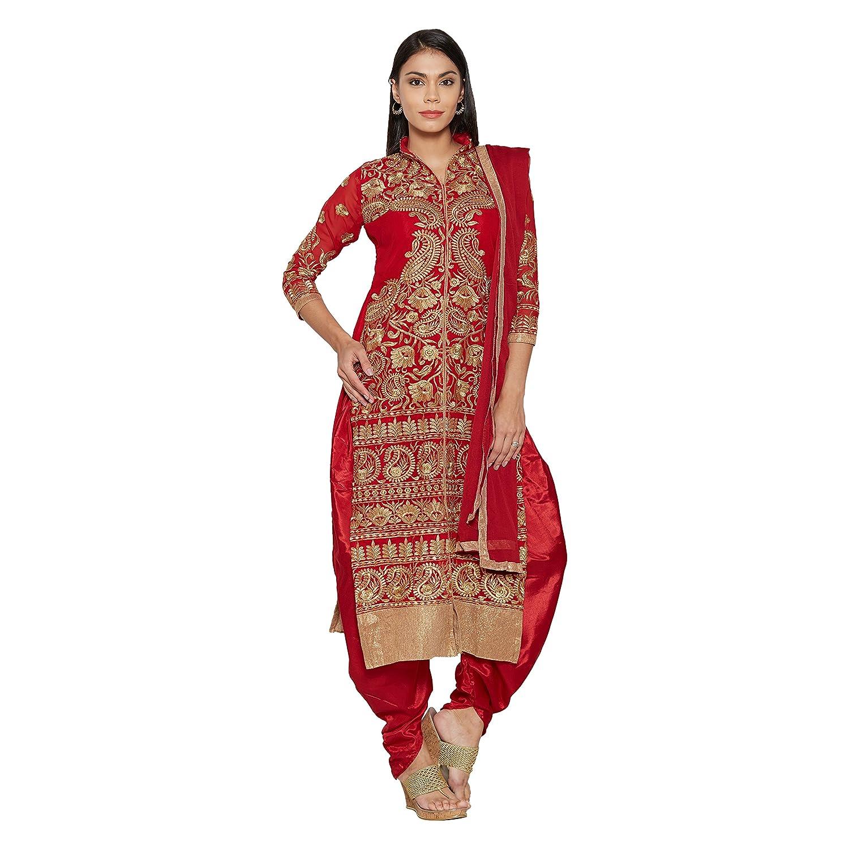 Florence Women's Chiffon Salwar Suit Dupatta Material