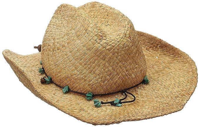 bfd38b85 Scala Women's Straw Cowboy Hat, Tea, One Size: Amazon.ca: Clothing ...