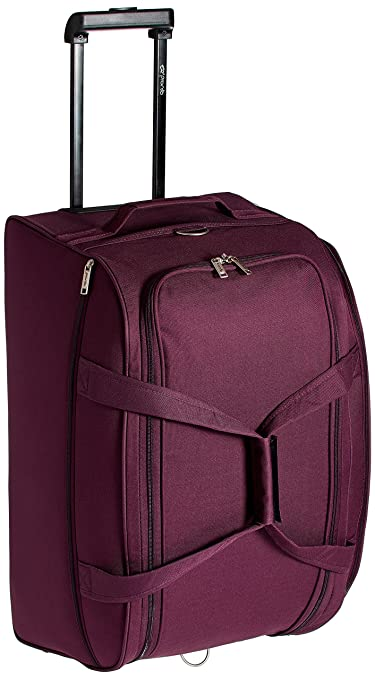 Pronto Miami Polyester 65 cms Dark Purple Travel Duffle  6573   PL  Suitcases   Trolley Bags