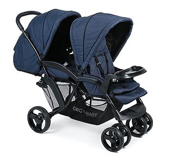CHIC 4 Baby 273 52 Carrito Doppio, Jeans Marina, color azul: Amazon.es: Bebé
