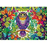 Buffalo Games - Johanna Basford's Secret Garden - Forest Owl - 500 Piece Jigsaw Puzzle