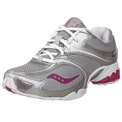 50d780e009 Amazon.com | Saucony Women's Grid Virtue Workout Shoe, Silver/Grey ...