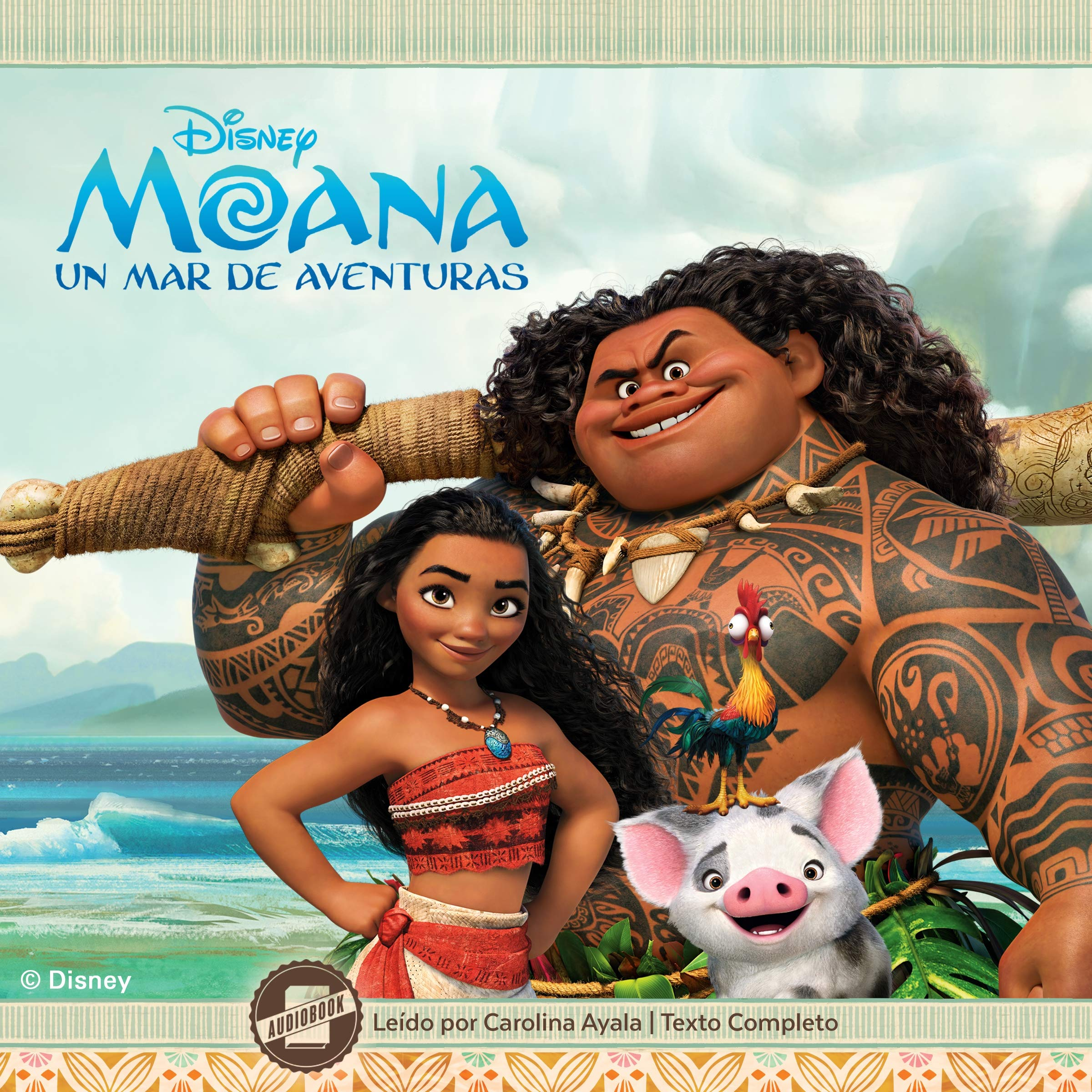Moana Spanish Aventuras Disney Press product image
