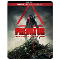 Predator Trilogy - 3 Movies Collection: Predator + Predator 2 + Predators (Limited Edition Steelbook) (3-Disc)