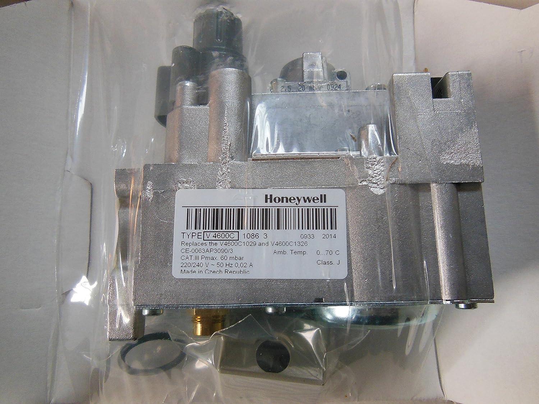 Honeywell V4600C1086 Gris Bouton Poussoir Valve De Gaz V4600C
