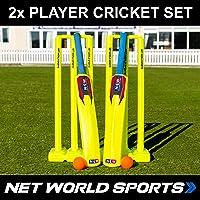 Kit de Cricket pour Le Jardin (Enfant/Junior/Senior) [Net World Sports]