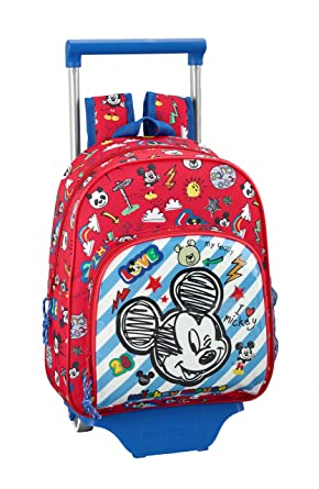 "Mickey Mouse ""Maker"" Oficial Mochila Infantil Con Carro ..."
