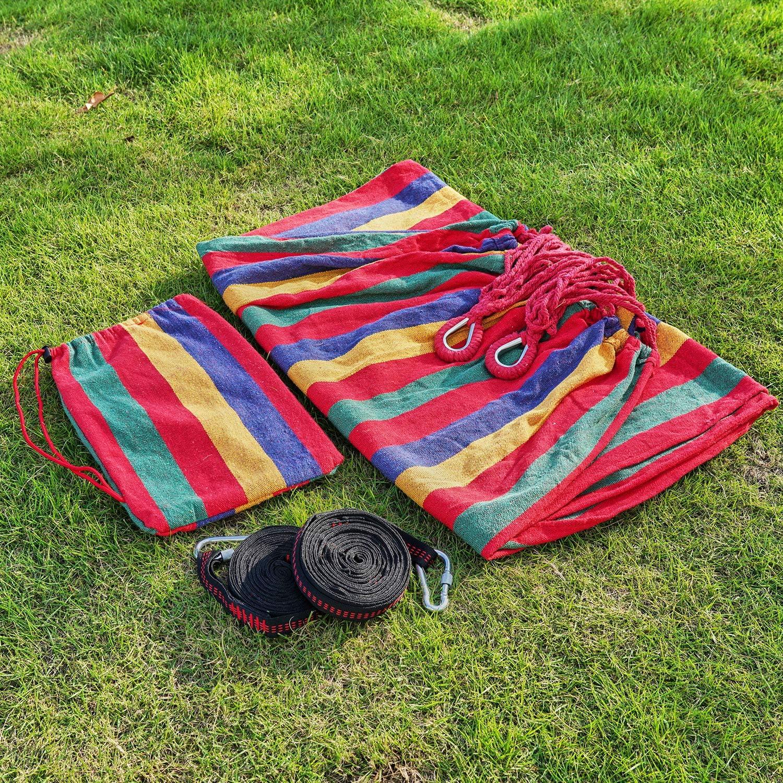 arteesol Travel Camping Hamaca Ultraligera 300 kg Capacidad de Carga de Secado r/ápido para Exteriores Jard/ín Interior 280 x 150 cm azul-01 Transpirable
