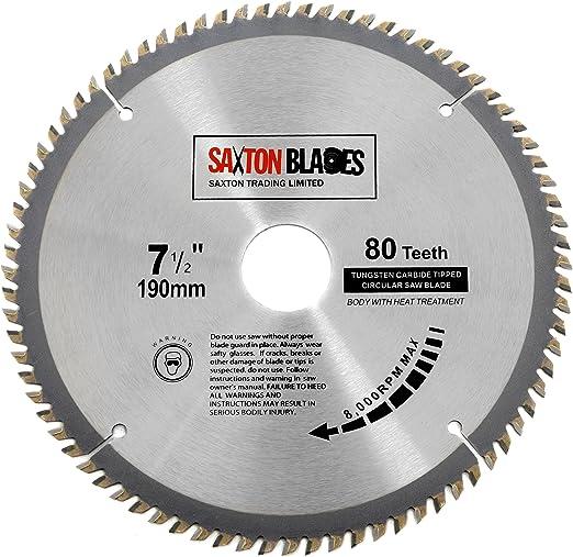 Travail du bois lame de scie 235 x 30 mm 48 T-Lame de coupe en carbure de tungstène-Tip dents