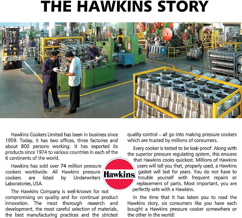 Hawkins CXT35 Schnellkochtopf 3,5 l silberfarben