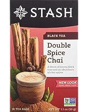 Stash Double Spice Chai Black Tea, 18 ct