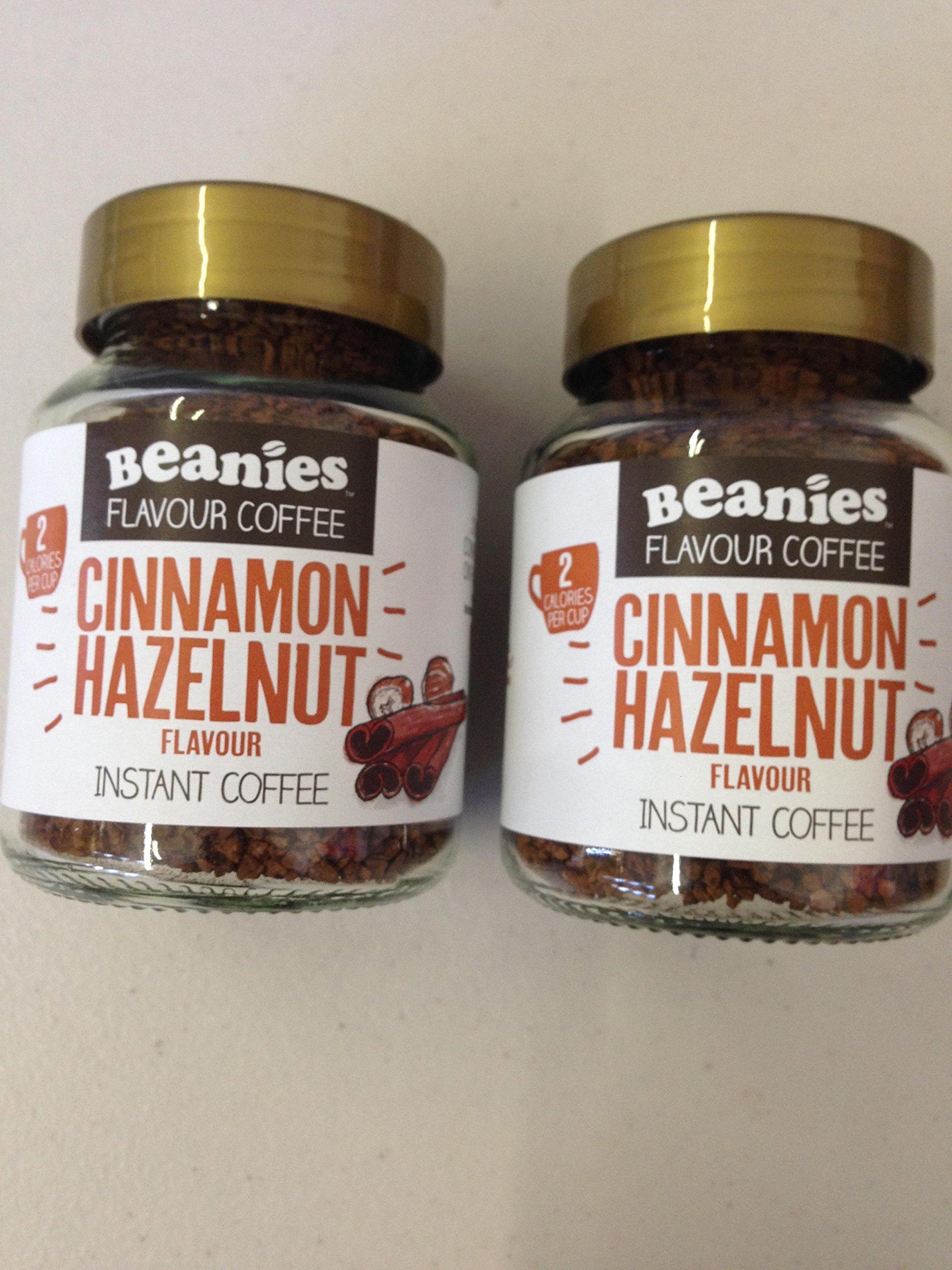 Beanies Cinnamon Hazelnut 2 x 50g Jars