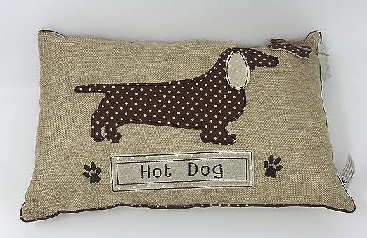 Cojín rectangular, diseño de perro salchicha de perro ...