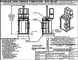Vestil HDC-905-IDC/230V Hydraulic Drum