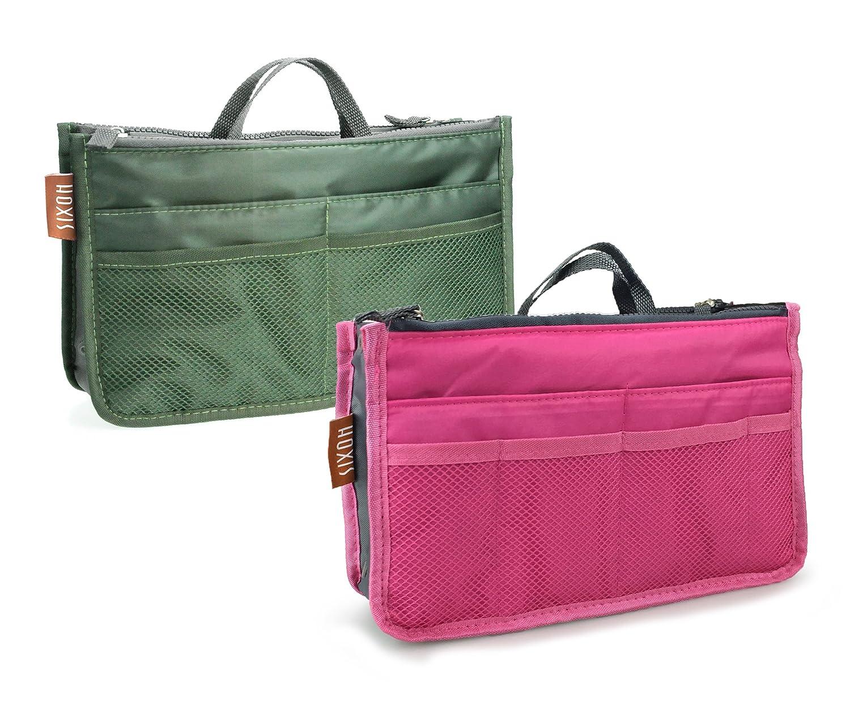 amazon com hoxis multifunction travel insert handbag organiser