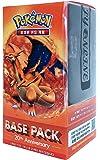 Pokémon Carte XY BREAK Busta di espansione Scatola 20 Packs in 1 scatola 20th Anniversay-Base pack : Mega Charizard coreano Ver TCG + 3pcs Premium Card Sleeve