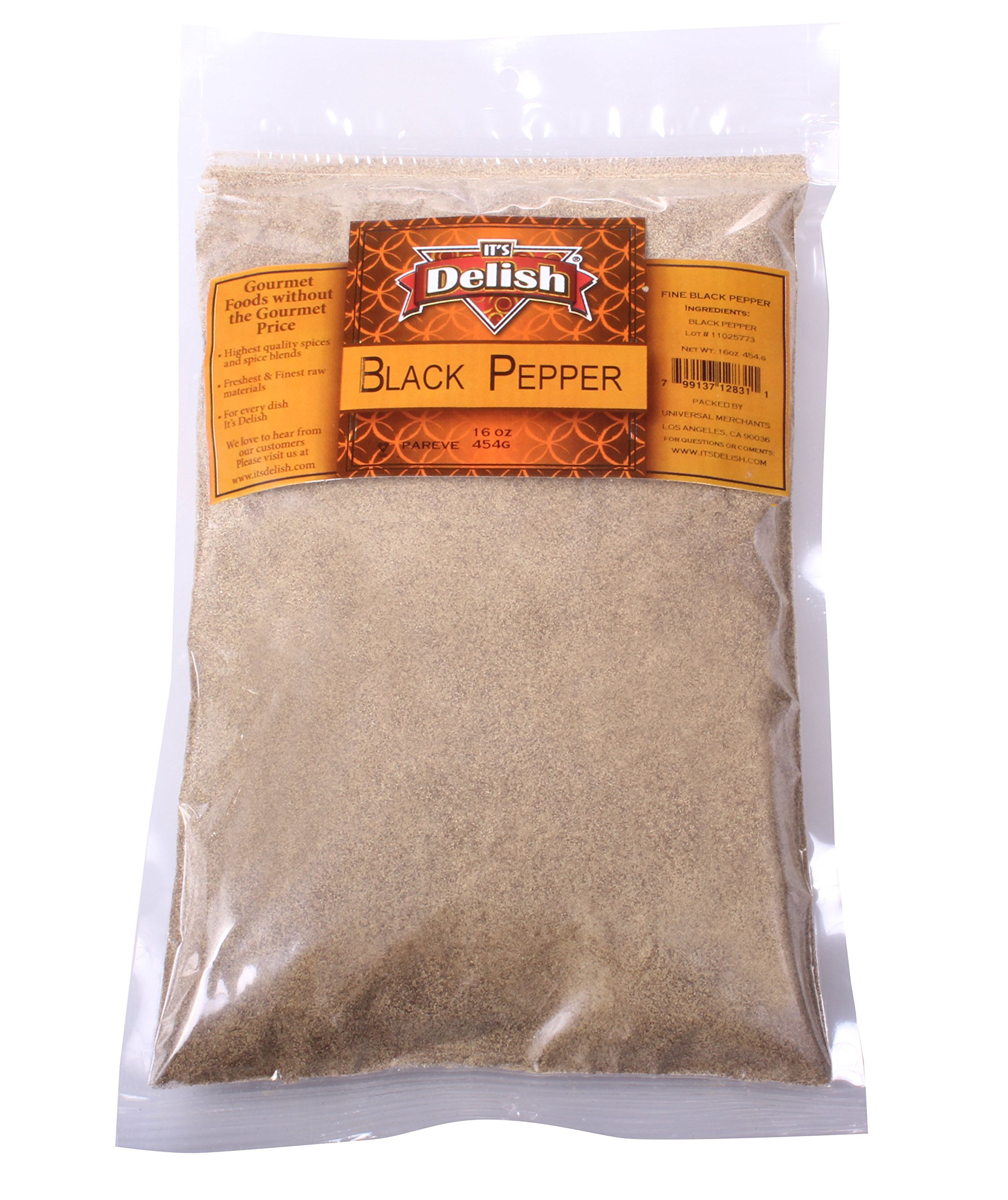 Black Pepper by Its Delish (Gourmet ground, 2 lbs)