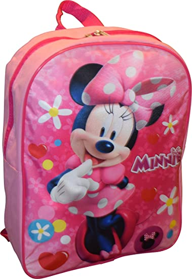 Image Unavailable. Image not available for. Color  Disney Girl Minnie Mouse  15 quot  Backpack 09cb9fb4ff928