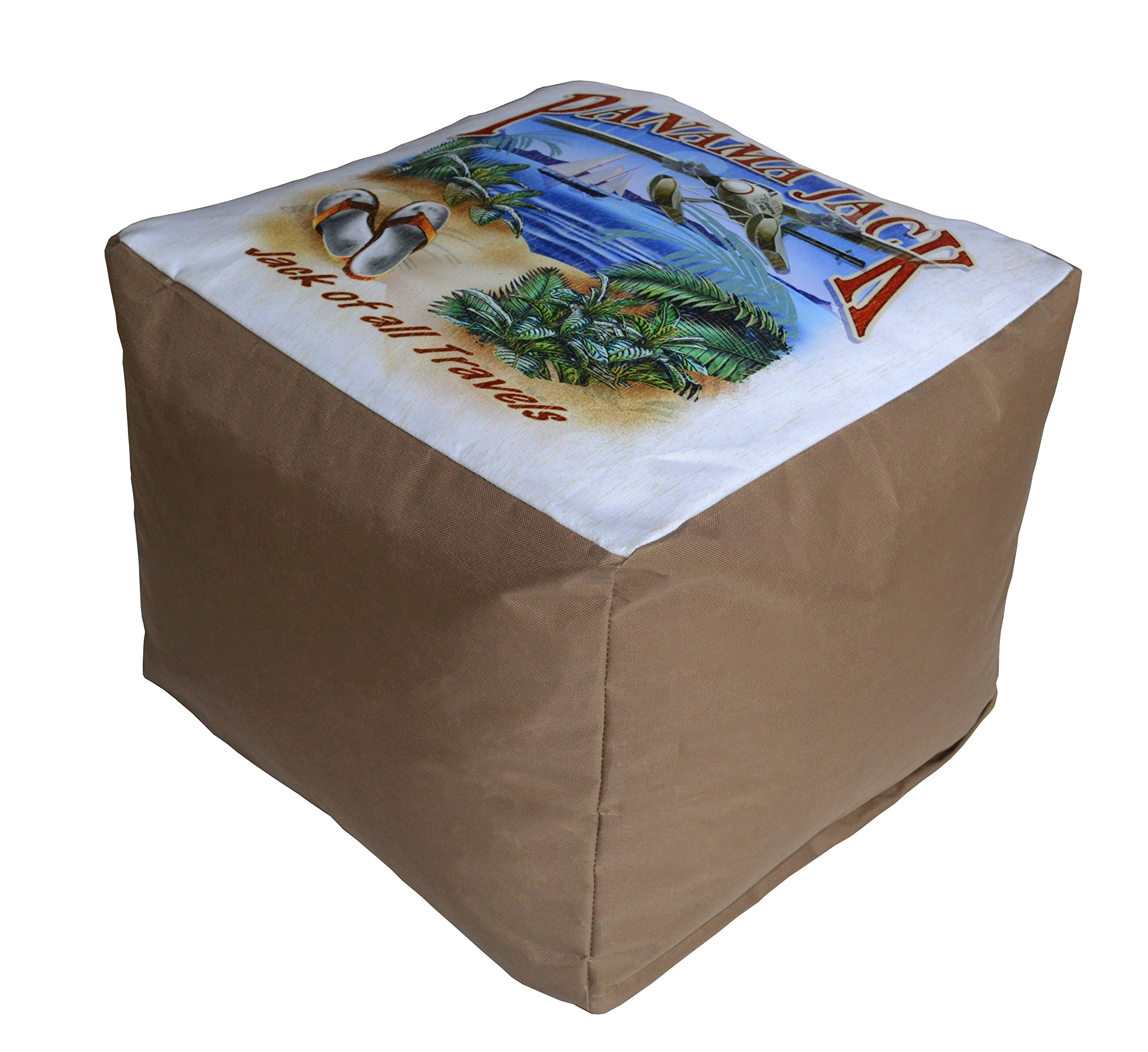 Panama Jack of All Travels Pouf Ottoman by Panama Jack (Image #2)
