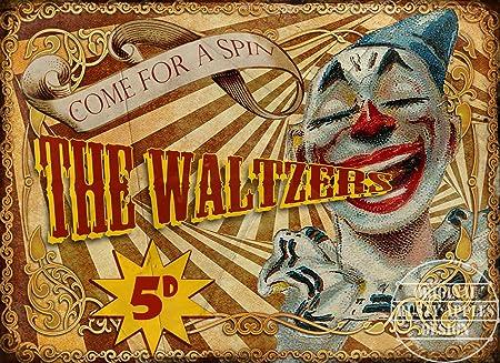 La Ramsden: Vintage circo, Carnaval, tiovivo, cartel de ...