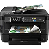 Epson WorkForce WF-7610 Wireless Color All-in-One Inkjet Printer with Scanner and Copier, Amazon Dash Replenishment Ready