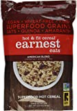 Earnest Eats Hot and Fit Cereal American Blend, 12.6 Ounces (Pack of 3)