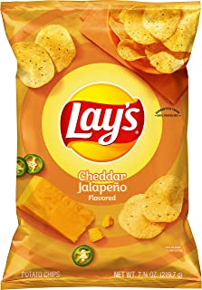 product image for Lay's Cheddar Jalapeno Flavored Potato Chips, 7.75 Oz